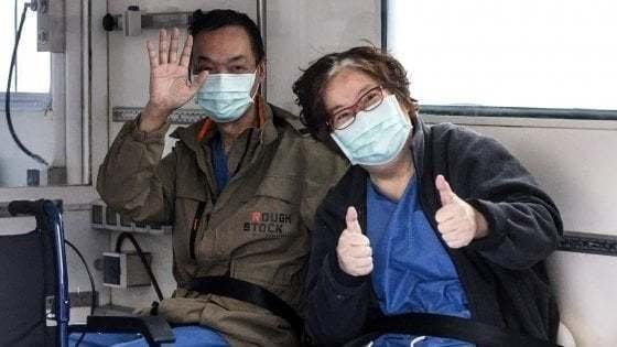 Coronavirus Roma, coppia cinese curata allo Spallanzani dona 40 mila dollari per la ricerca