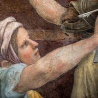 Le Sibille di Raffaello, le foto dell'affresco restaurato