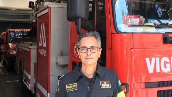 Roma, il nuovo comandante dei Vigili del fuoco è Francesco Notaro