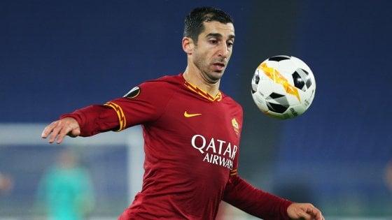 Roma, accordo con l'Arsenal: Mkhitaryan resta in giallorosso