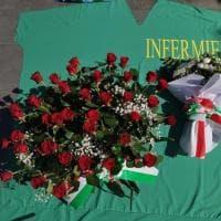 """La protesta degli infermieri alla Regione Lazio: """"Siamo i factotum della sanità"""""""