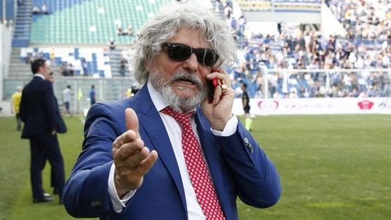 """Roma, chiesto il rinvio a giudizio per Massimo Ferrero. """"Ha sottratto 1,1 milioni di euro dalle casse della Samp"""""""