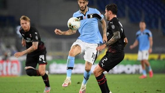 Serie A, senza Ciro, la Lazio crolla col Milan 3 a 0 all'Olimpico