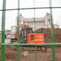 Roma, per la Metro C il conto sale: 4.500 euro al giorno.
