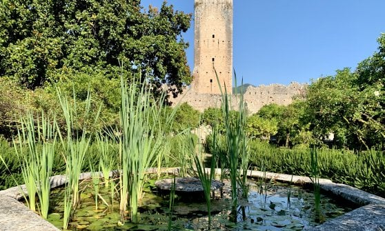 Ninfa, l'Orlando furioso e concerti  jazz al tramonto tra le rovine dell'antico castello