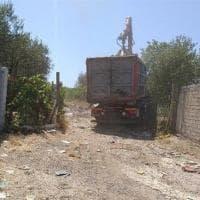 Roma, bonificata una discarica abusiva a Borgata Finocchio: rimosse 25 tonnellate di rifiuti