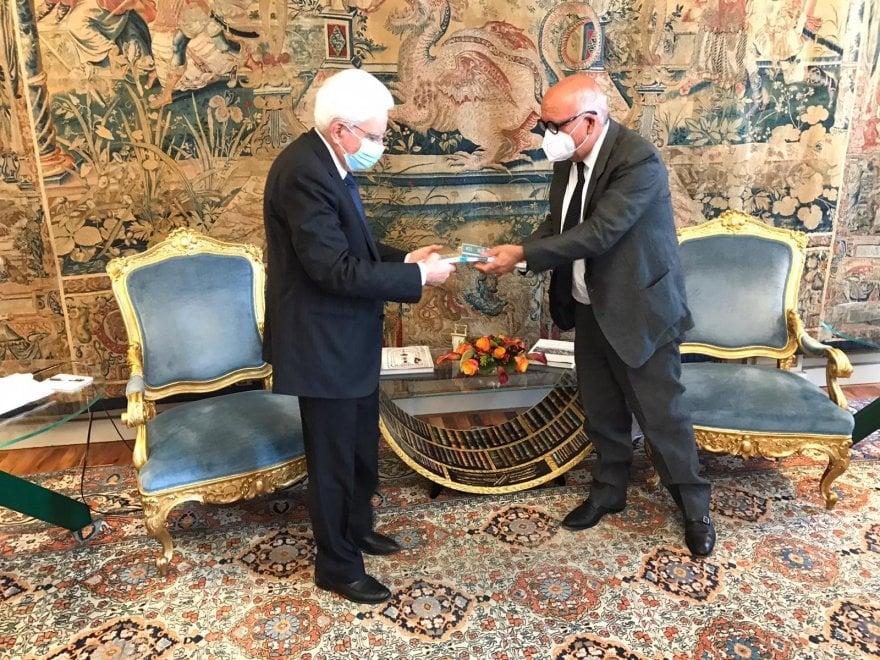 La  guide di Repubblica arrivano al Quirinale, Mattarella riceve il direttore Cerasa