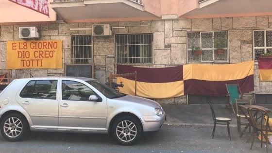 Roma in festa per lo scudetto: ma è solo il set della serie tv su Francesco Totti