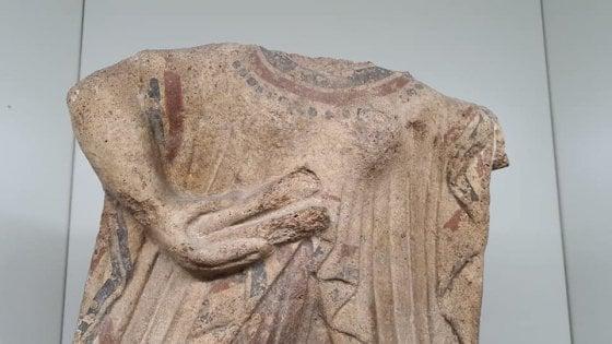 "Archeologia, riunite a Roma le antefisse ""gemelle"": create insieme e separate dalla storia"