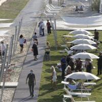 "Roma, inaugurata la spiaggia ""urbana"" Tiberis"