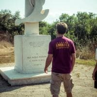 Ostia, Kassovitz all'Idroscalo rende omaggio a Pasolini