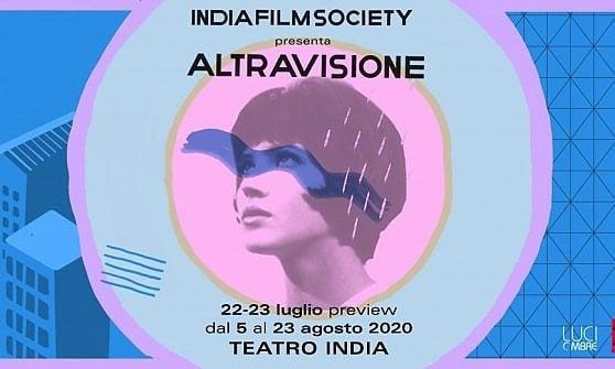 Cinema, AltraVisione all'arena del teatro India a Roma