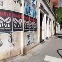 Roma, manifesti con Diabolik un anno dopo l'omicidio di Fabrizio Piscitelli