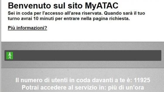 Roma, corsa al rimborso Atac per il lockdown: oltre 11.000 in coda anche un'ora sul sito