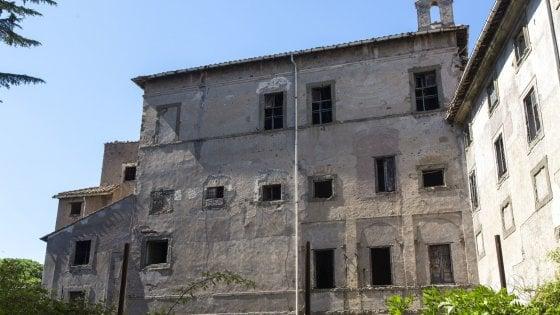 Roma, nelle segrete stanze di quel che rimane di Palazzo Rivaldi
