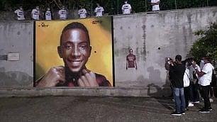 """A Paliano il grande murale per Willy: """"Sarà sempre con noi"""""""