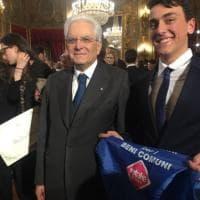 Roma, 2018 il presidente Mattarella premia il più giovane socio Retake. Gli interventi sono 565