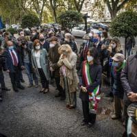 Corone d'alloro per ricordare il Rastrellamento del Ghetto: la cerimonia per il 77esimo anniversario