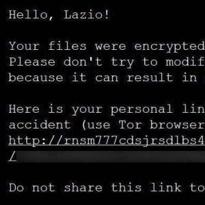 """085752245 ec9bae9d c6df 4bc8 8529 4cbf9eb5af74 - Anche l'Fbi sulle tracce degli hacker alla Regione Lazio. Dietro l'attacco una gang chiamata """"Sprite Spider"""""""