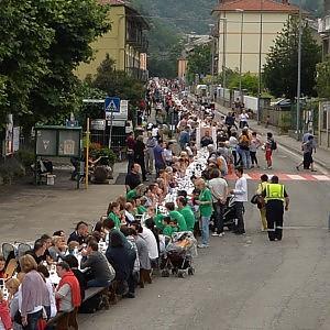 Pomaretto, quattromila a tavola per entrare nel Guinness dei Primati