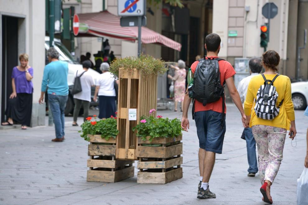 Le eco-fioriere non piacciono a tutti - 1 di 10 - Torino ...