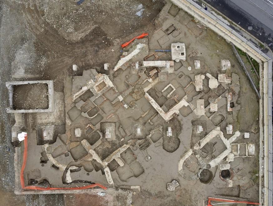 L'antica necropoli nel quartier generale Lavazza