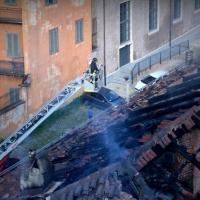 Torino, in fiamme la Cavallerizza Reale patrimonio dell'Unesco