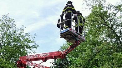 Vento fino a cento all'ora, danni nelle valli  e a Torino: 140 chiamate ai pompieri