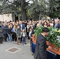 """I funerali di Regge, il figlio: """"Un uomo che emozionava"""""""