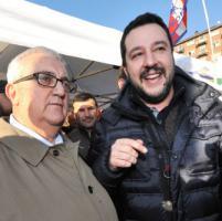 Torino: Salvini contro i rifugiati, contestato dai centri sociali