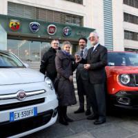 Fiat, una 500x e una Renegade in dono al Museo di Auschwitz