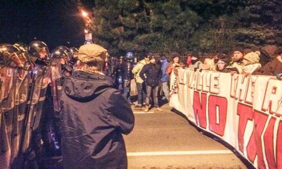 Blitz No Tav all'autostrada Torino Bardonecchia: la polizia sgombera, tre fermati