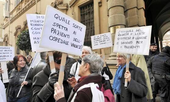 Ospedale Valdese a Torino, il Tar decide la chiusura