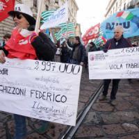 """Sciopero delle banche, sindacati soddisfatti: """"Chiuso il 90% degli"""