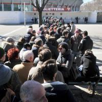 Tutti in coda per i biglietti di Toro-Zenit
