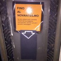 Ticket crossing, alla fermata del bus biglietti semi-usati gratis per continuare a...