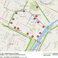Il percorso della Santander Mezza Maratona