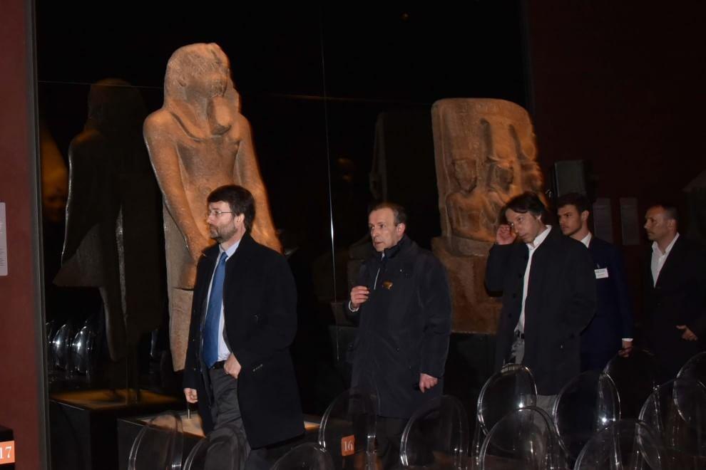Il nuovo Egizio, le immagini della cerimonia inaugurale