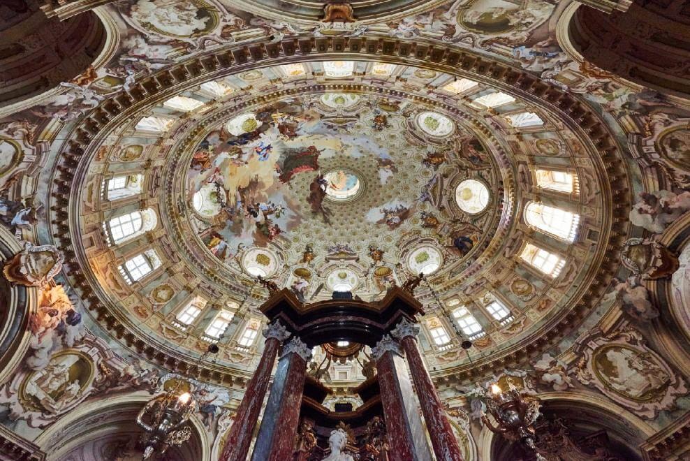 Cuneo, per la prima volta apre al pubblico la cupola ellittica più grande del mondo