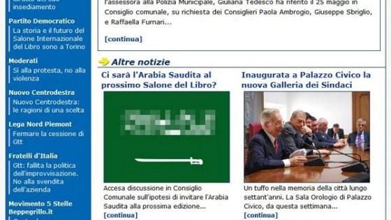 Torino: bandiera dell'Arabia Saudita con insulti all'Islam sul sito del Comune