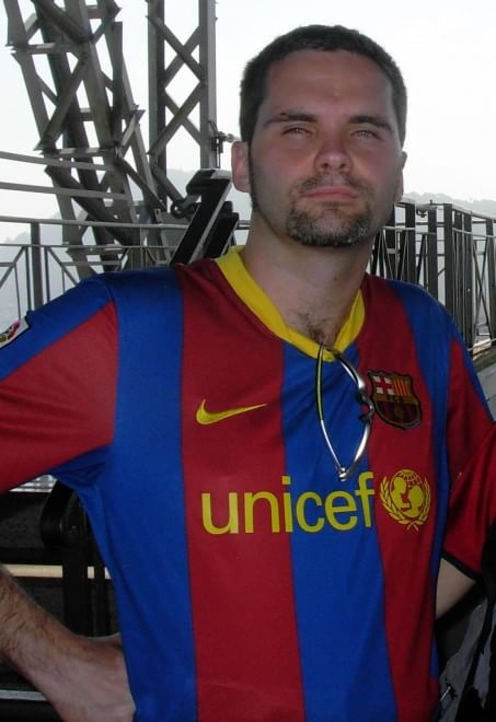 I tifosi del Barcellona in casa dell'avversario