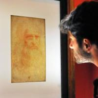 L'Autoritratto di Leonardo è andato a Roma in Frecciarossa