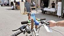 La sfida in bicicletta  è sulla creatività