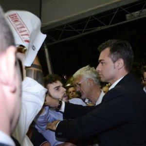 Studenti contestano il ministro Giannini alla Festa dell'Unità