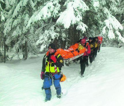 """Soccorso alpino, interventi a pagamento per le """"attività rischiose"""""""