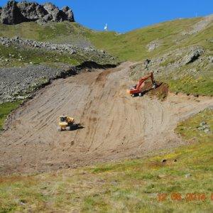 Amianto sulla pista da sci della Vialattea scavata dalle ruspe