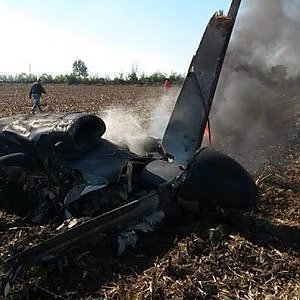 """""""Convertiplano"""" sperimentale precipita nel Vercellese, due morti: """"Era in fiamme, il pilota l'ha portato lontano dalle case"""""""