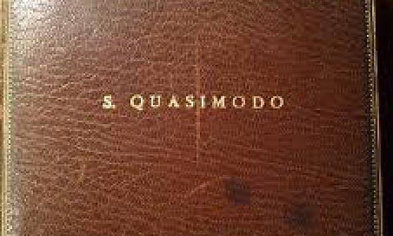All'asta a Torino la medaglia per il Nobel di Salvatore Quasimodo