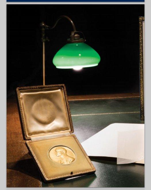 La medaglia del Nobel di Quasimodo all'asta