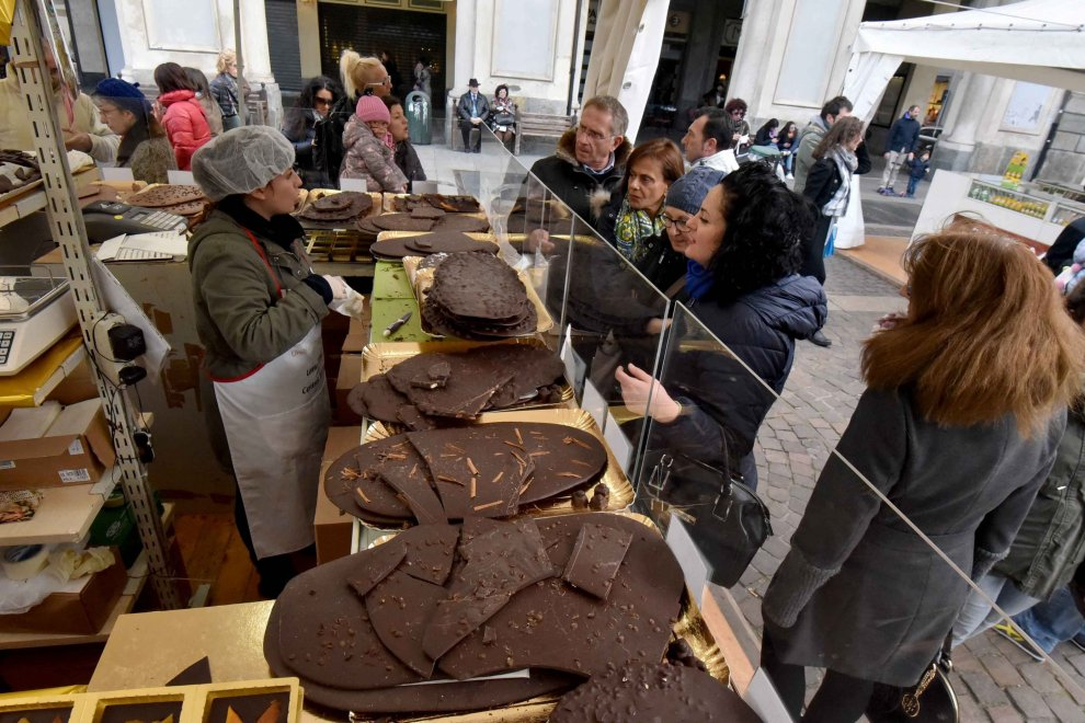 Il cioccolato da spettacolo nel salotto di Torino